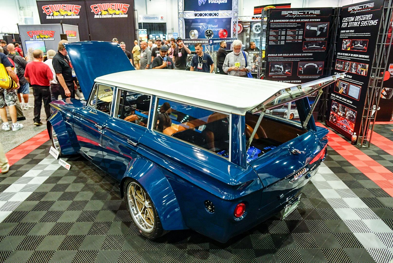 Bauter's 1963 wide-body AMC Rambler American 220 Wagon