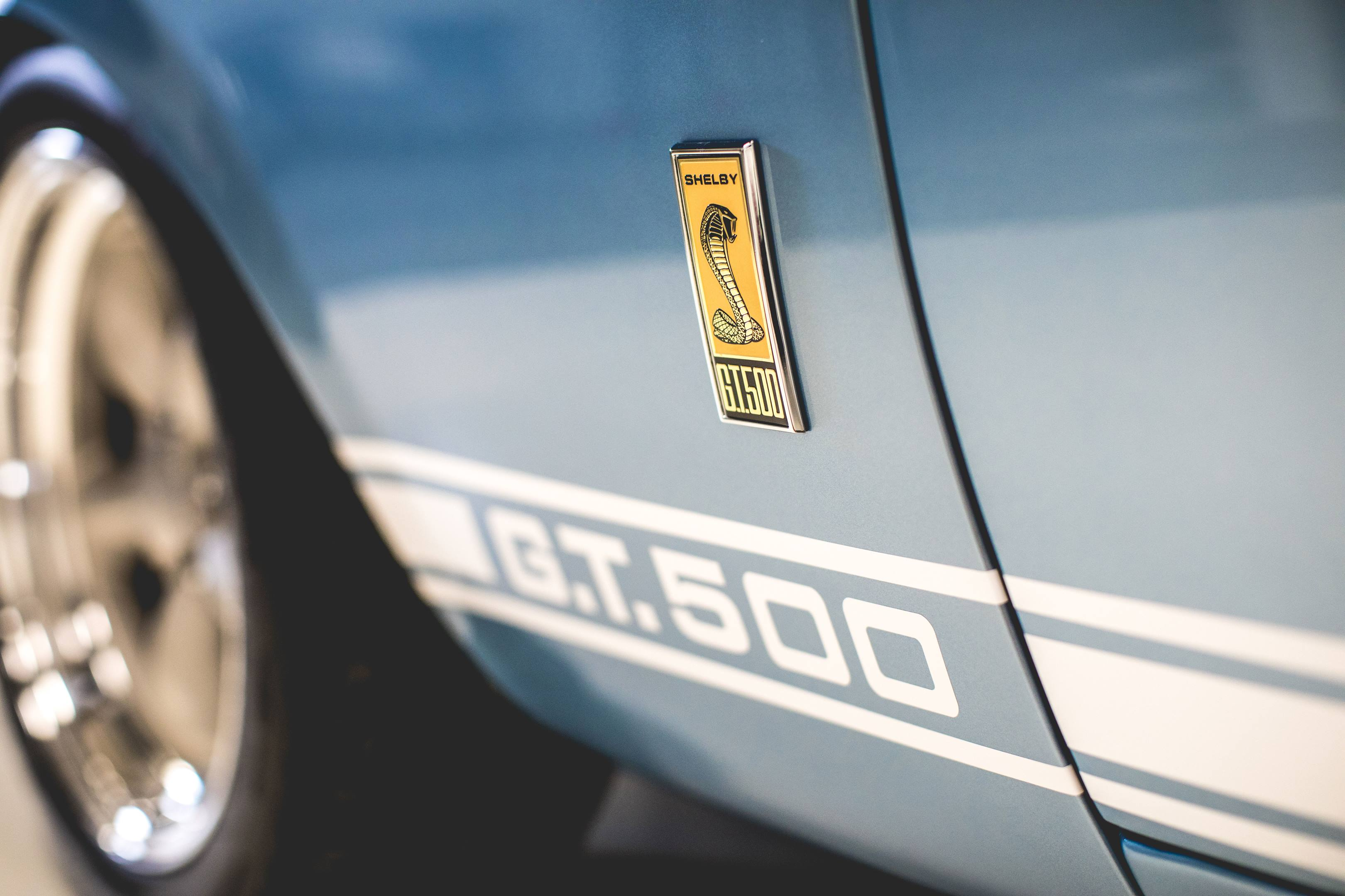 Revology Shelby GT350 badging