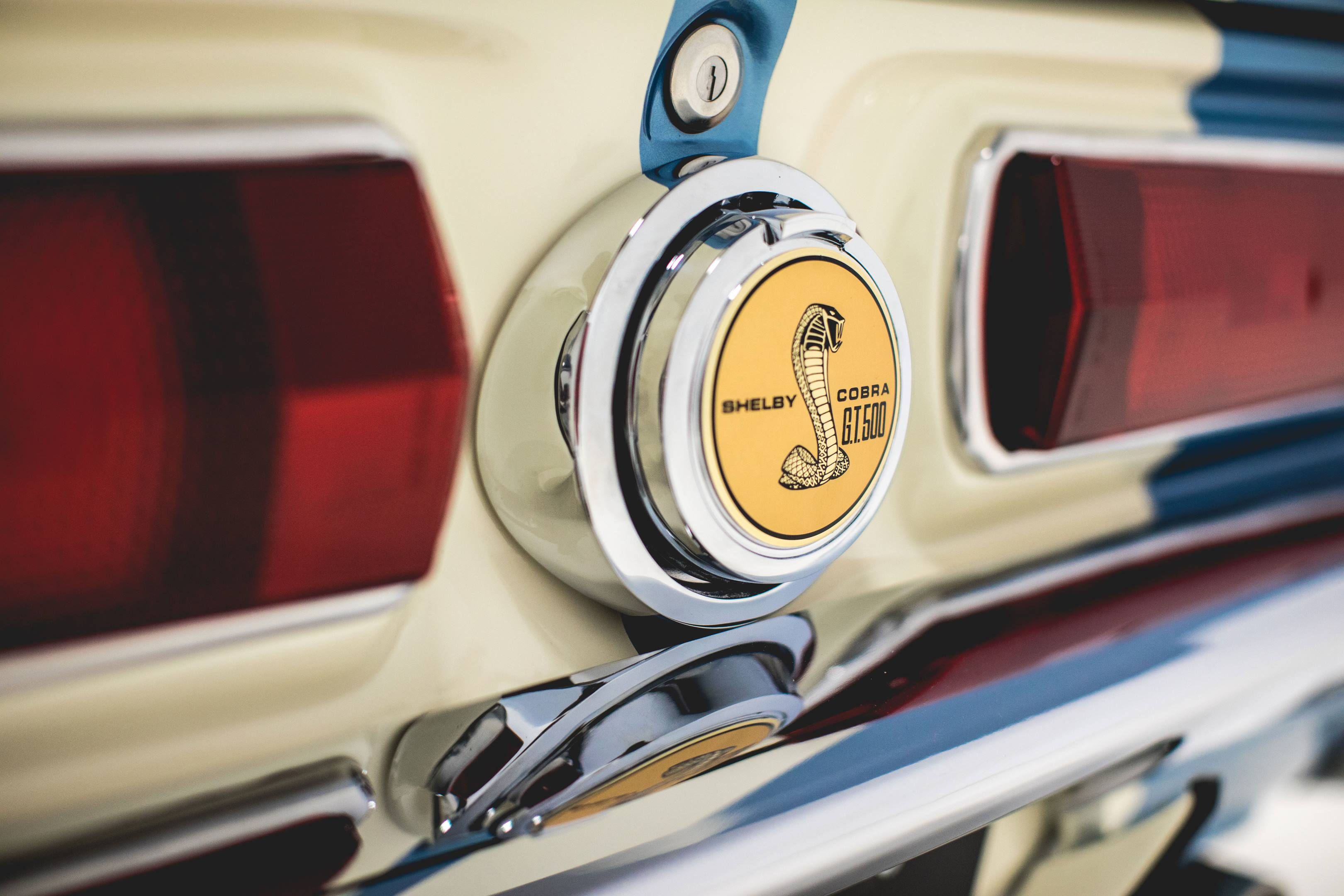 Revology Shelby GT350 trunk badge