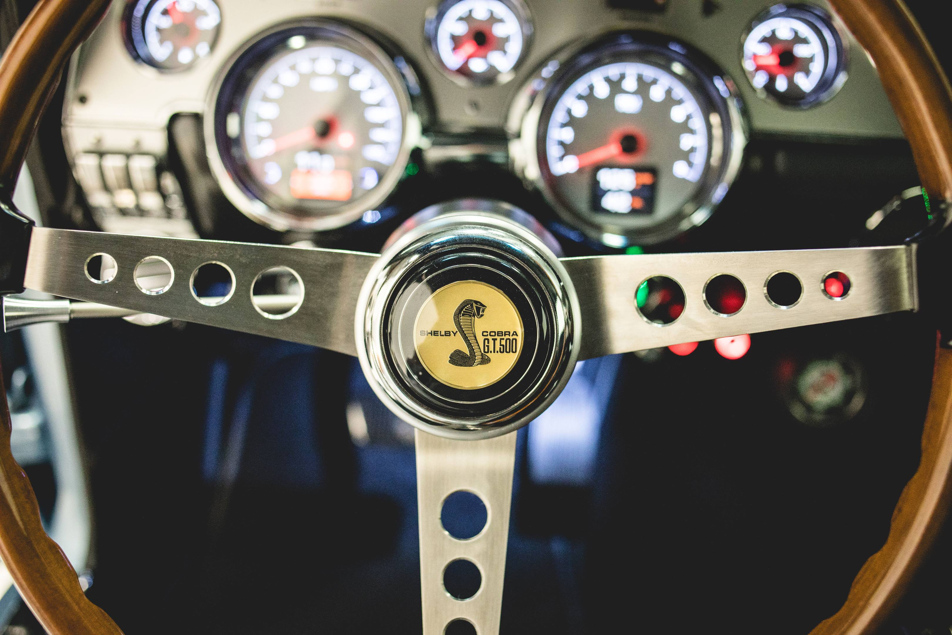 Revology Shelby GT350 steering wheel