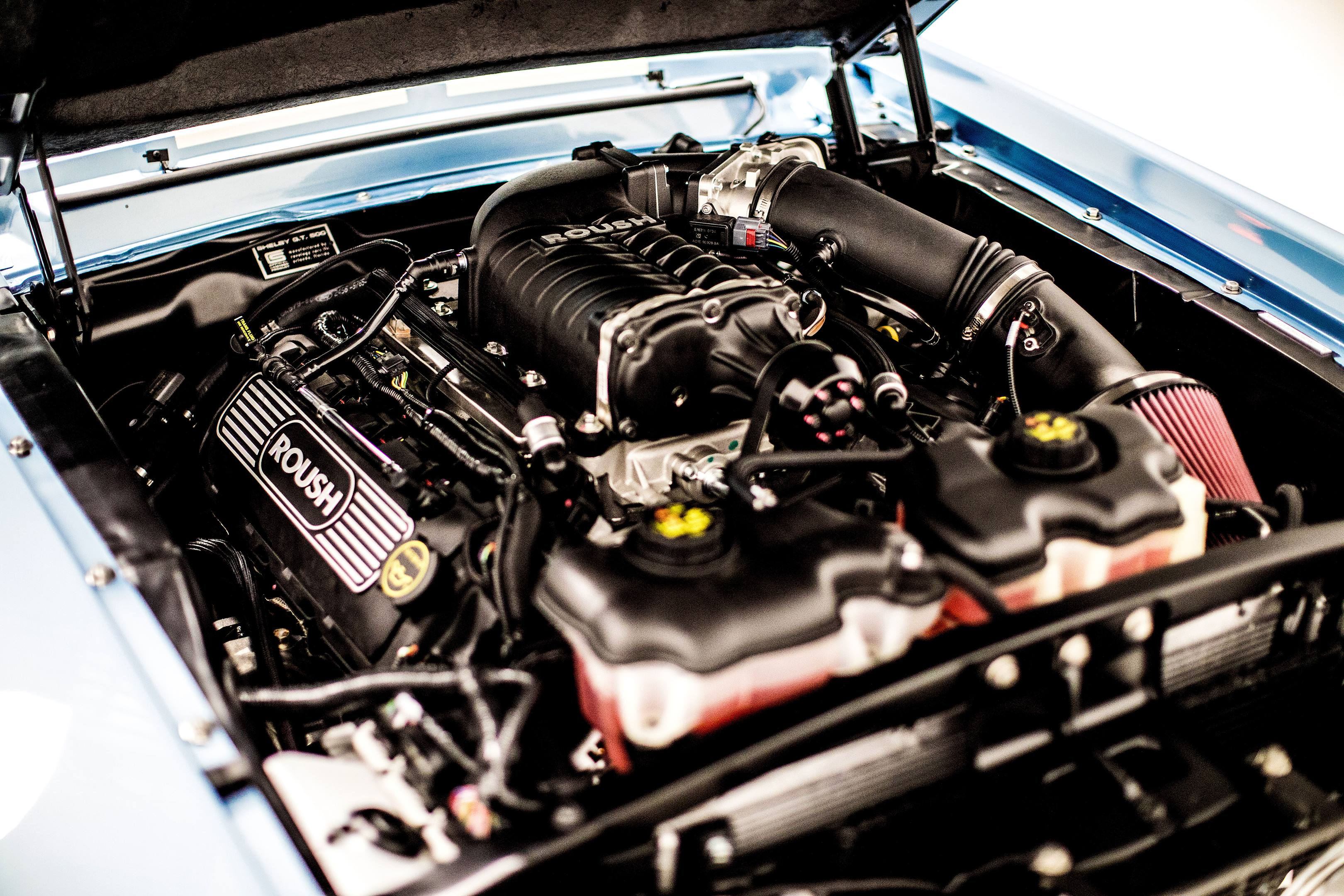 Revology Shelby GT350 engine
