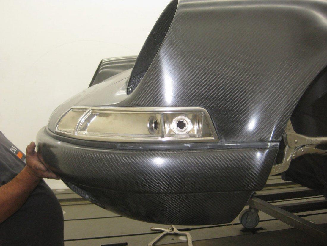 Singer Vehicle Design carbon fiber work