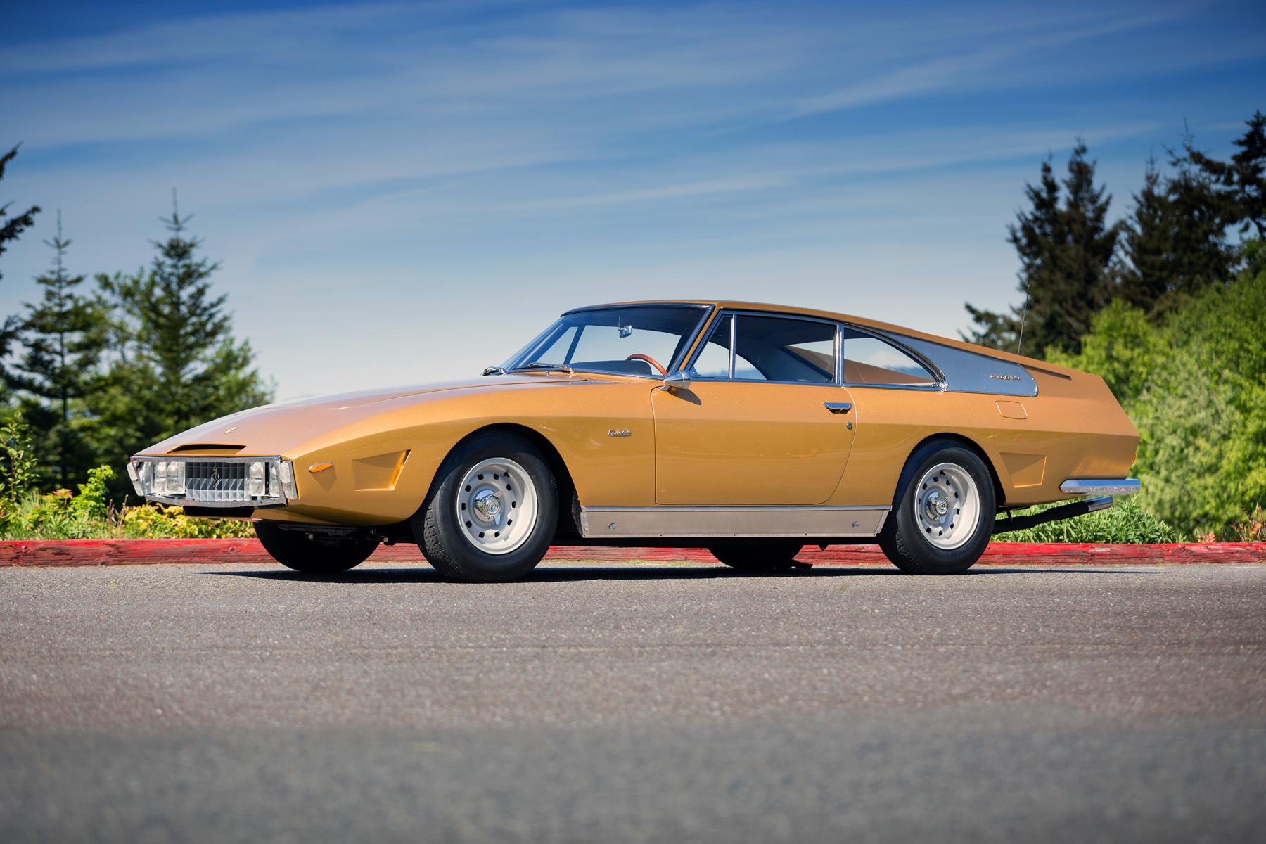 Drogo 1966 Ferrari 330 2+2 front 3/4