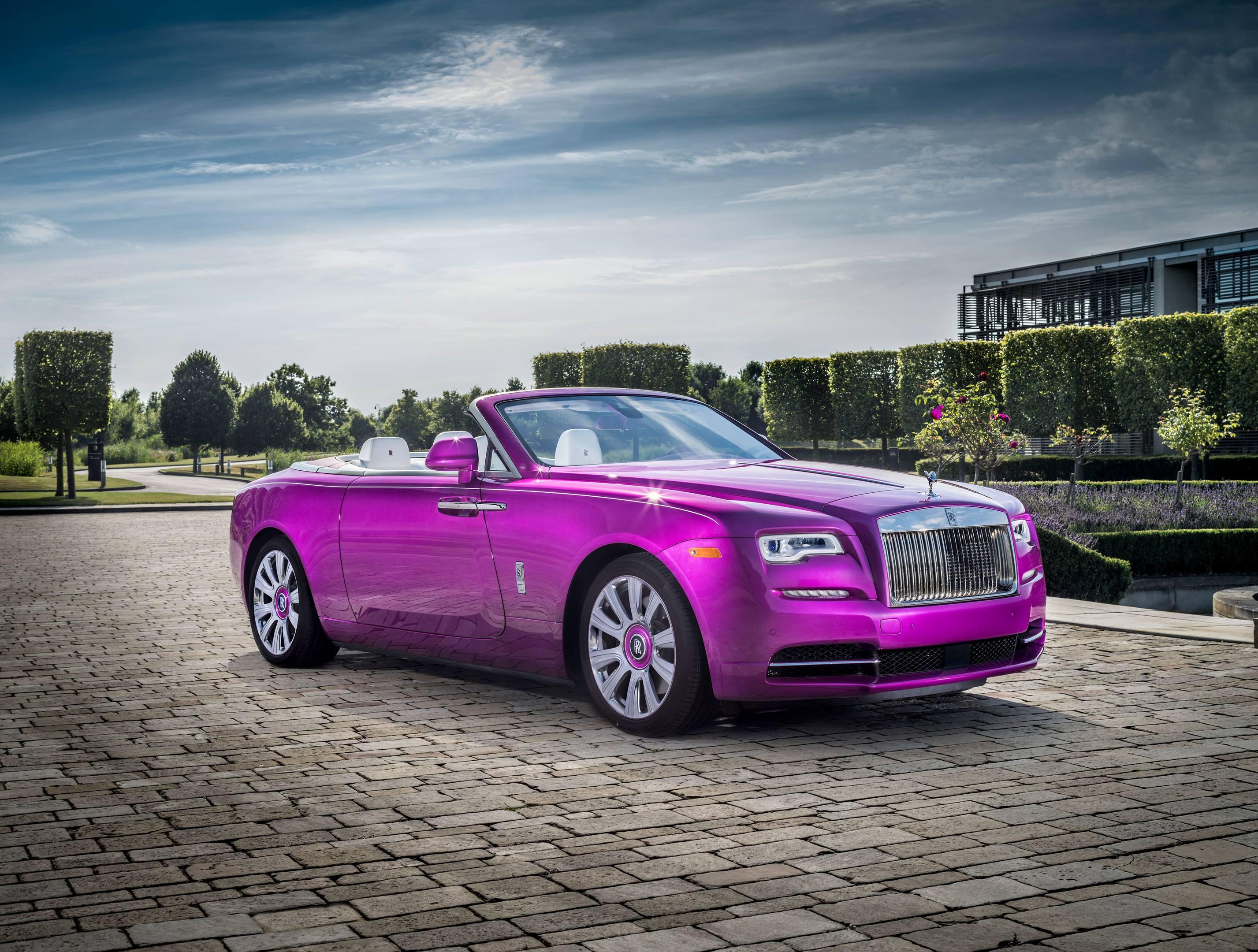 Michael Fux's Rolls-Royce Dawn convertible
