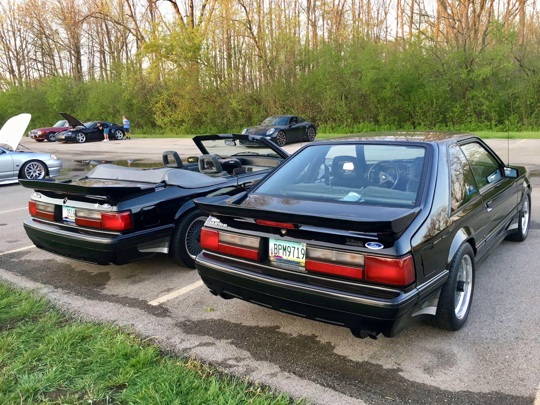 1988 Saleen Mustang Convertible and 1987 Saleen Mustang Hatchback