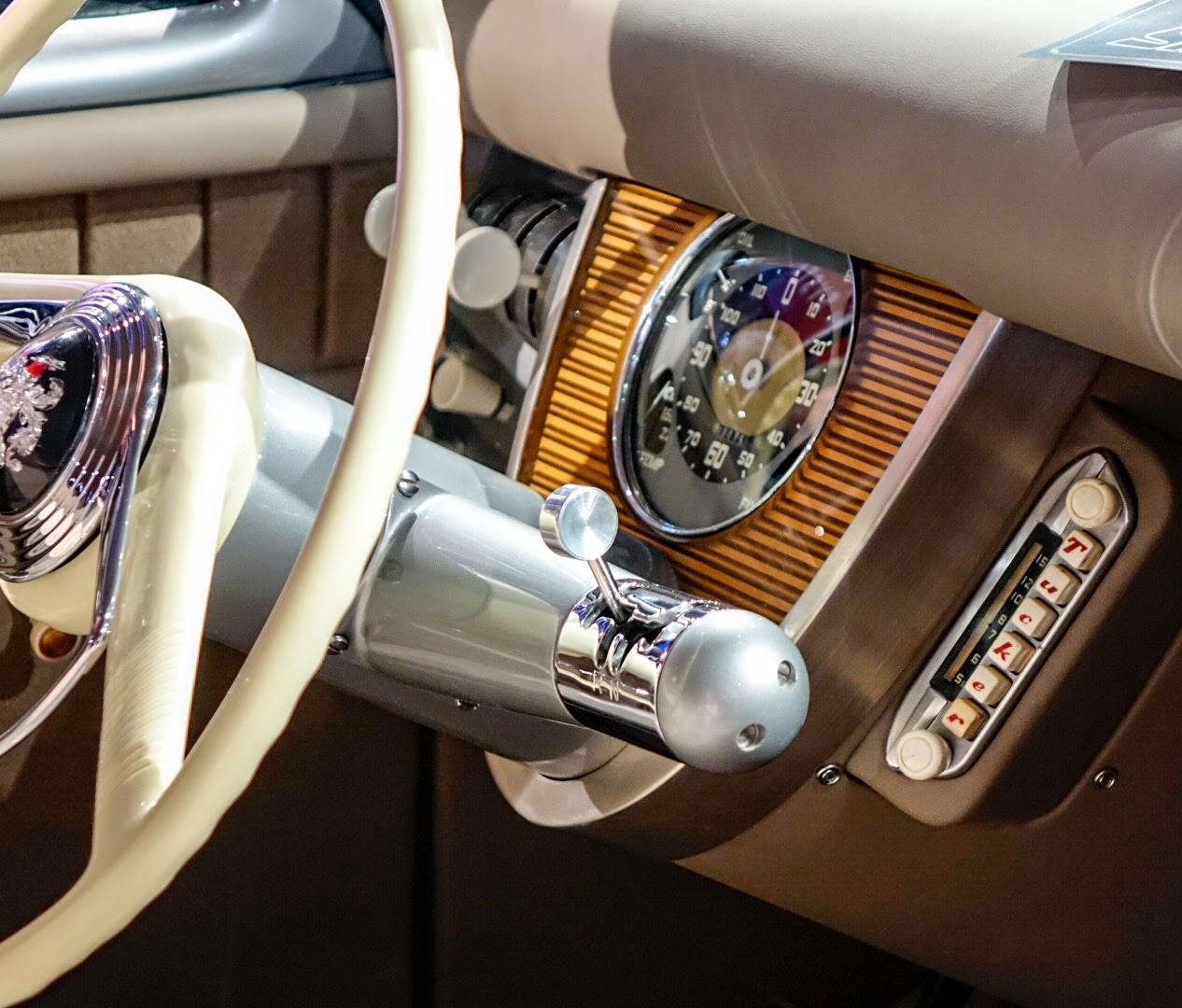 Rob Ida Tucker Replica SEMA steering column