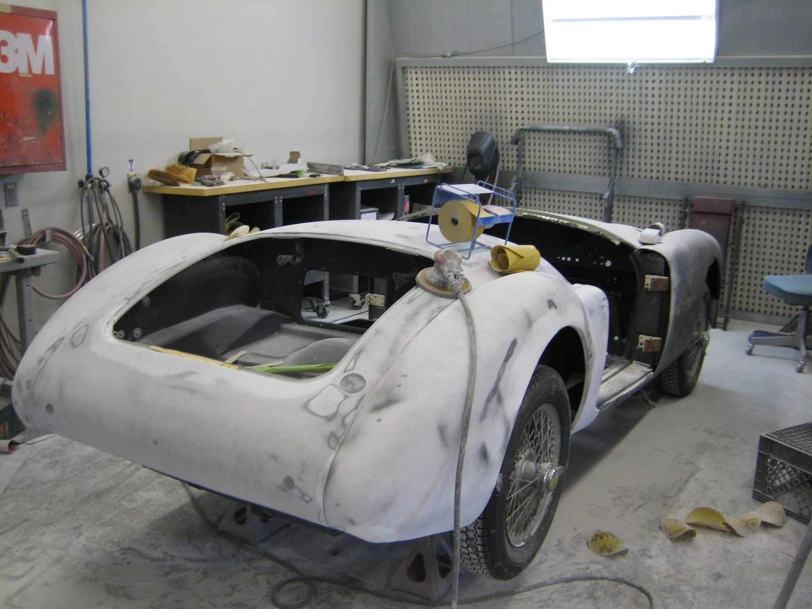 57 MGA resto rear