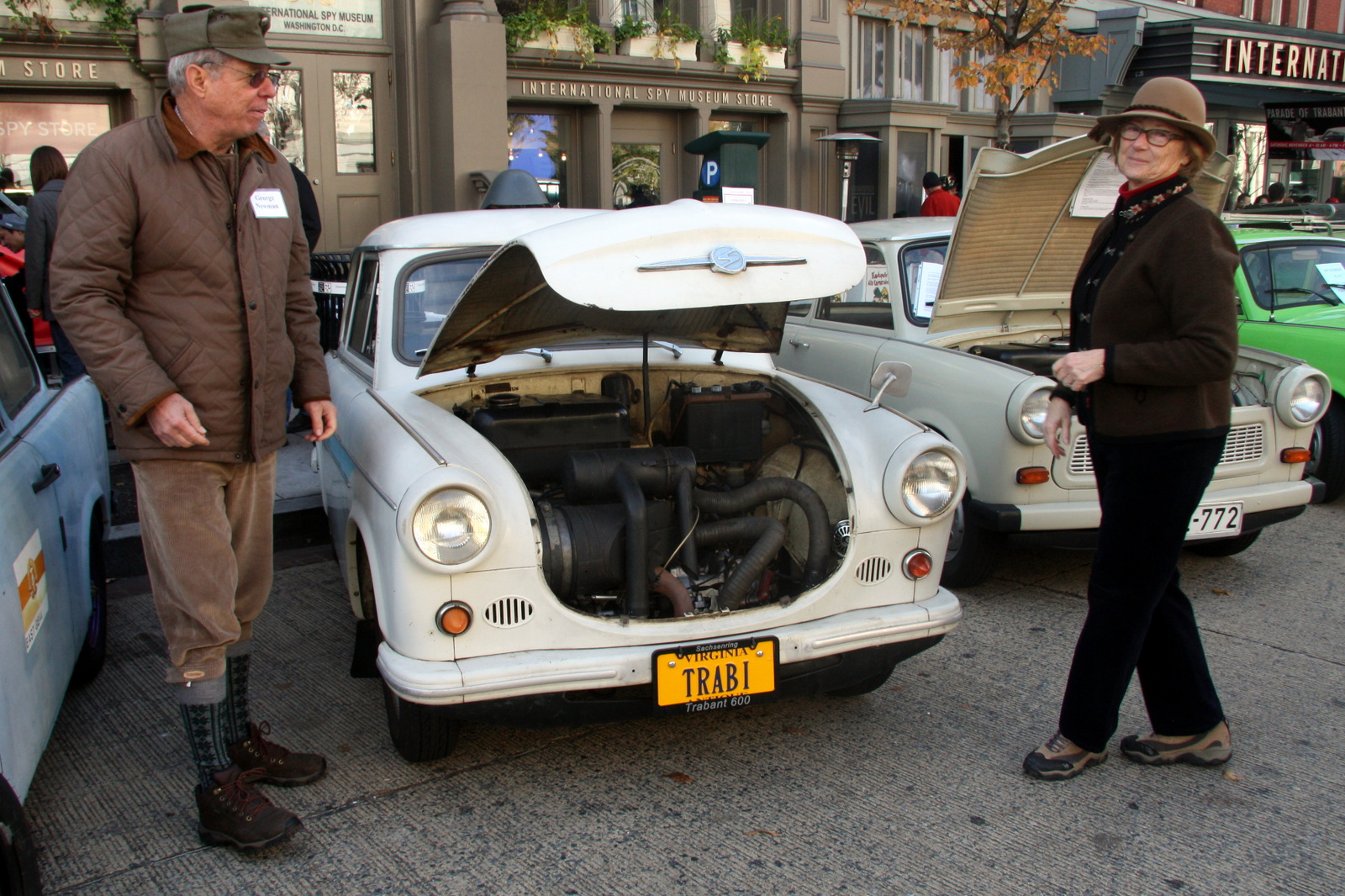 Jane and George Newman bought their 1963 Trabant 601 when George was stationed at a U.S. Army base in Germany in the 1990s.