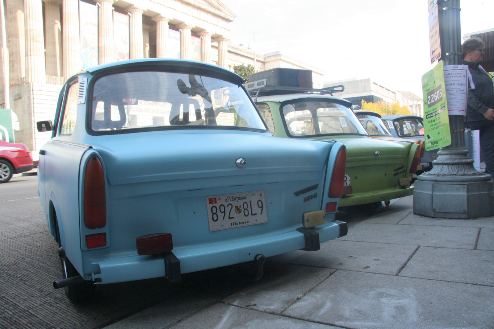 11th annual Parade of Trabants