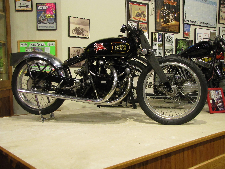 Vincent Black Lightning prototype