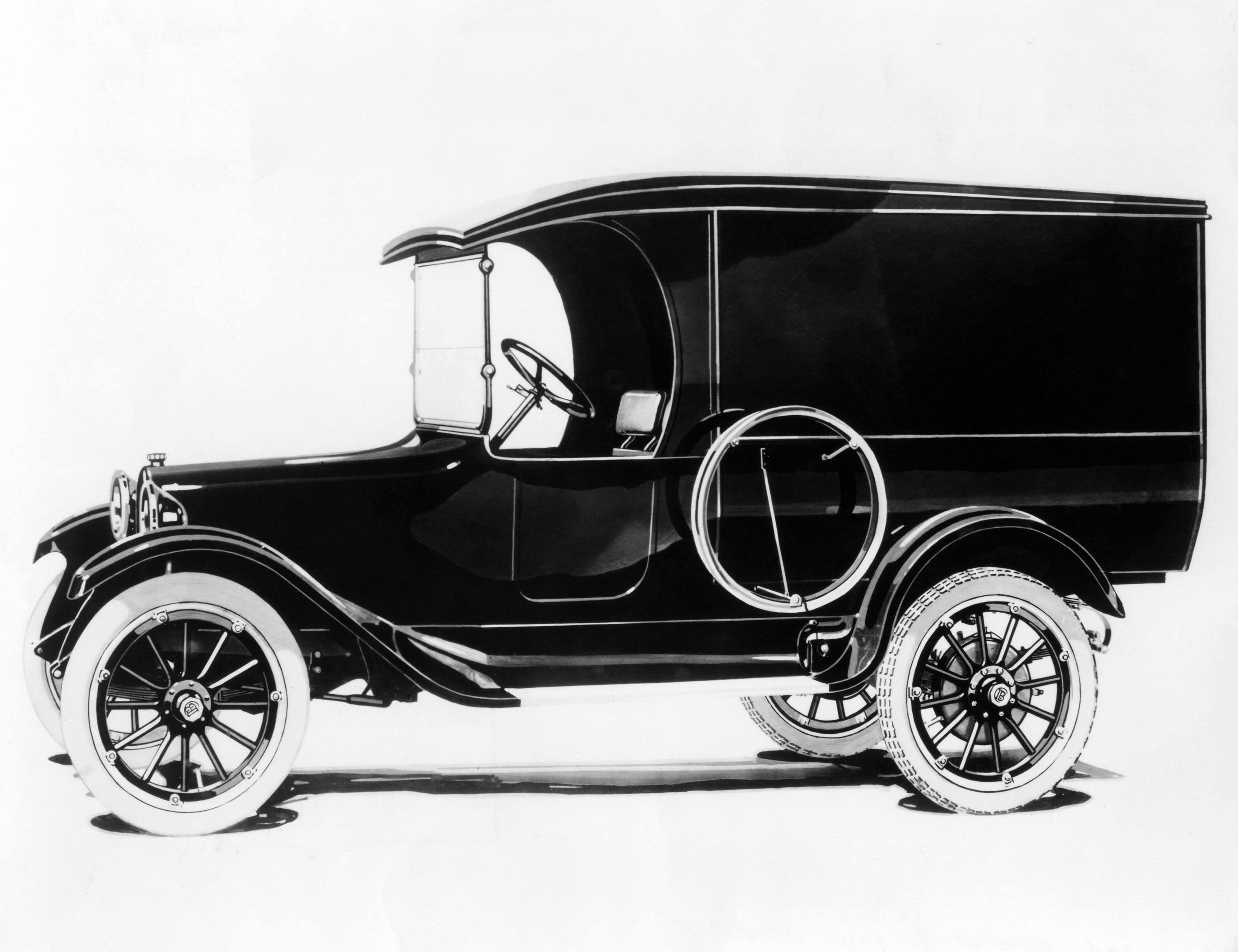1918 Dodge Commercial Panel Van