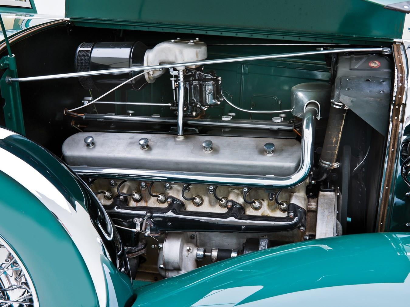 1932 Marmon Sixteen engine