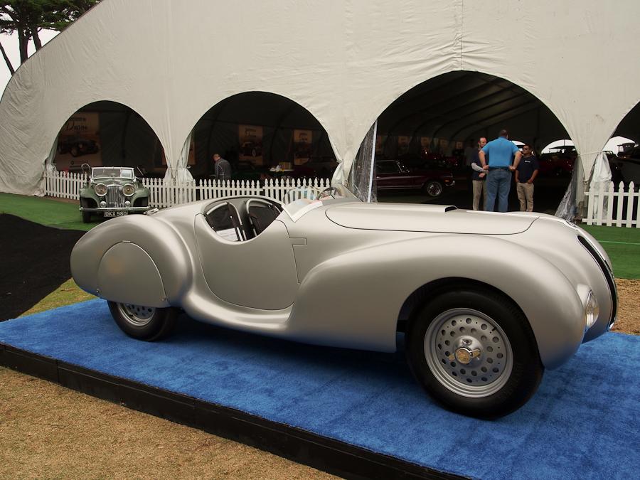 1940 BMW 328 silver