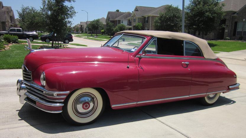 1948 packard super 8 convertible mecum auction