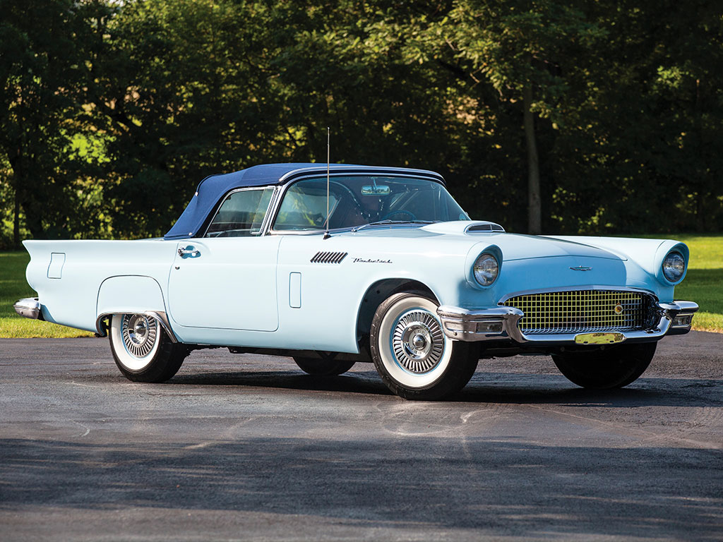 ford thunderbird 1957 rm auction