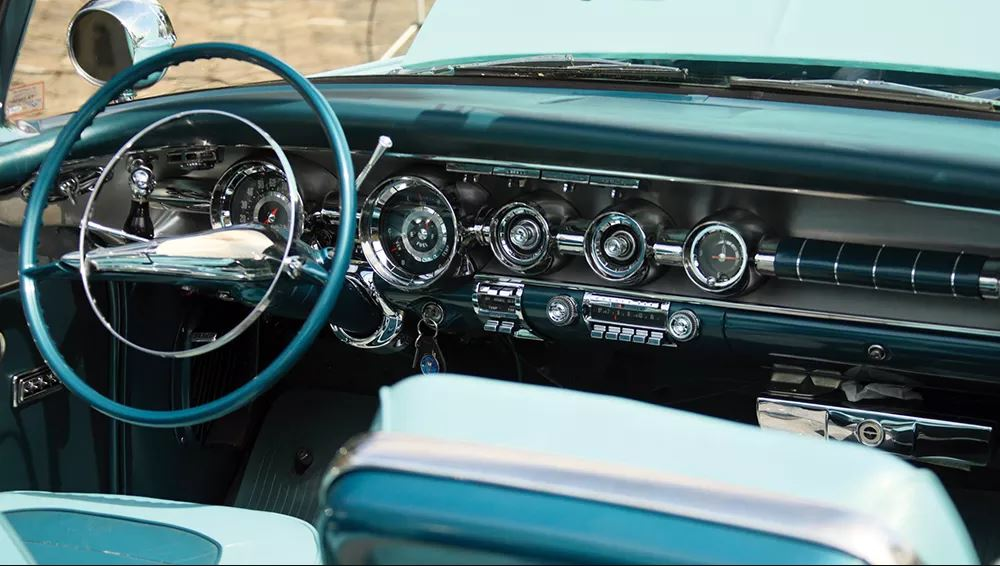 1958 Pontiac Bonneville Radio
