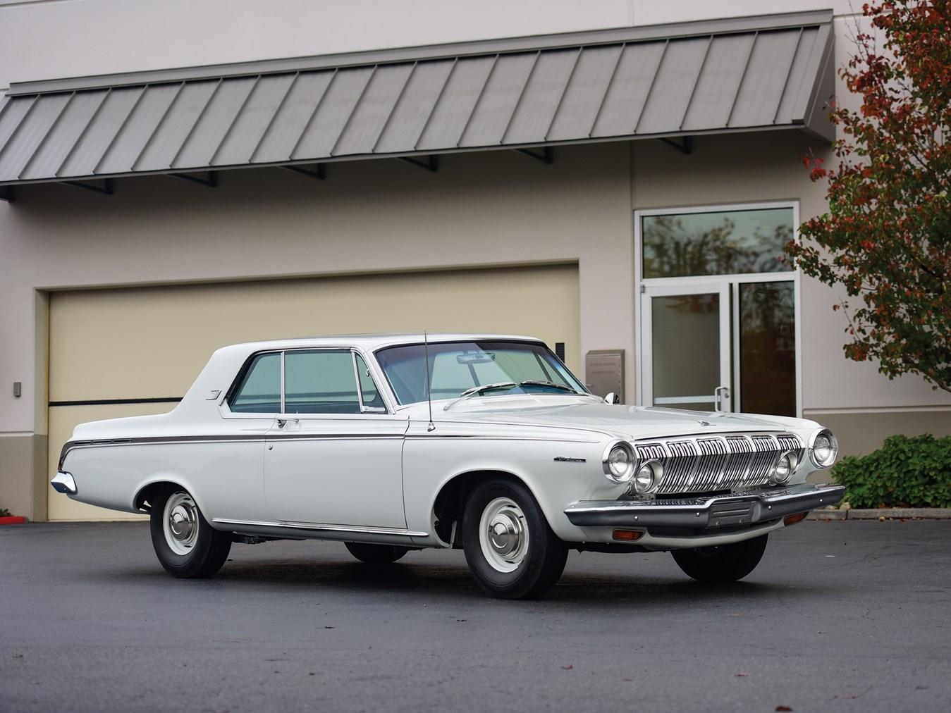 1963 dodge polara max wedge 383 auction