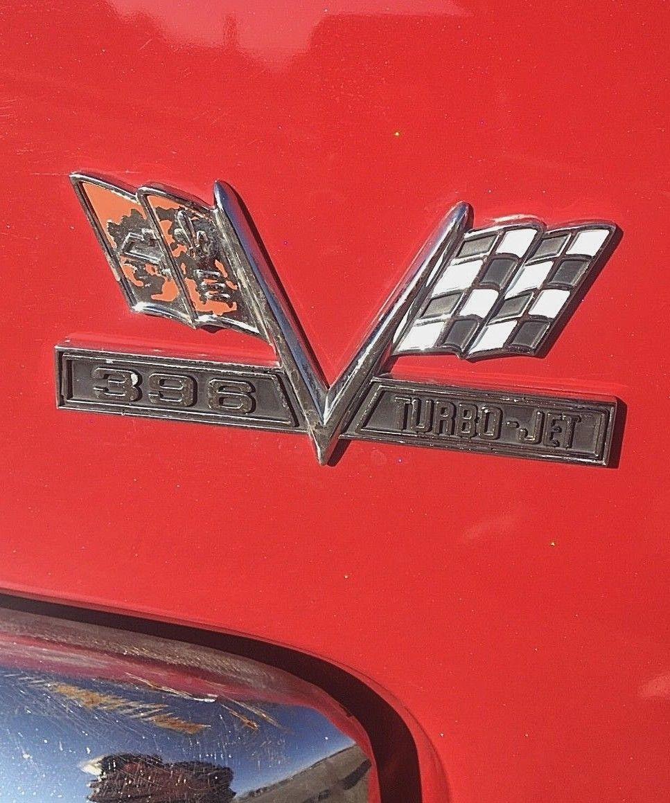 1966 Impala Wagon badge