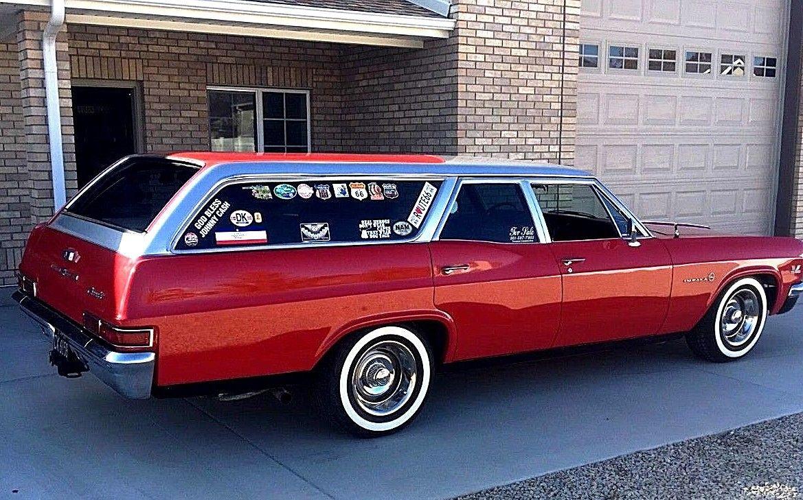 1966 Impala Wagon profile