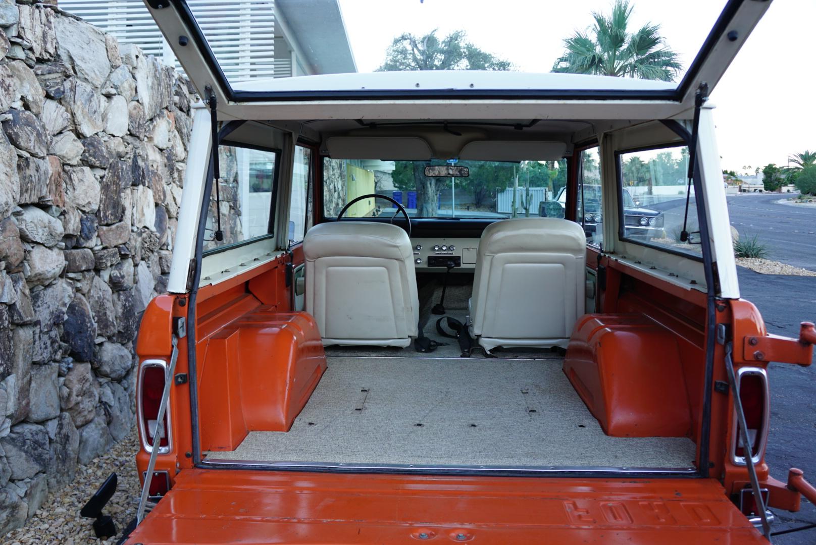 1974 Ford Bronco cargo
