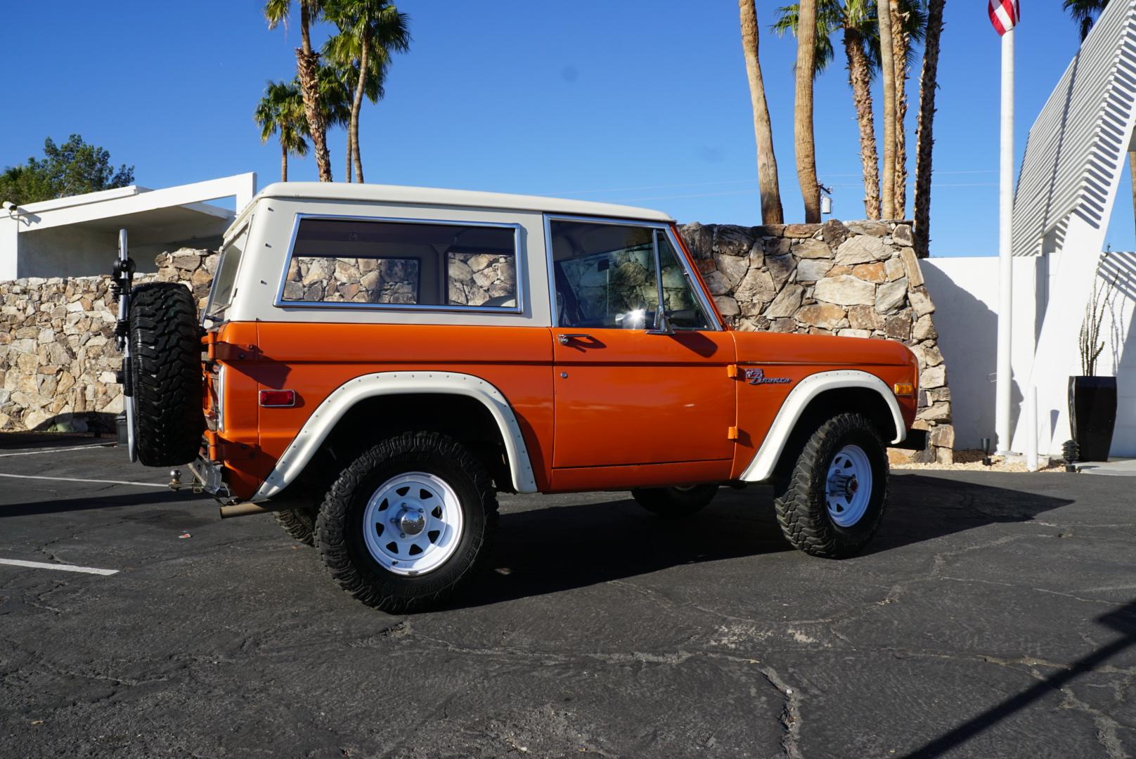 1974 Ford Bronco profile
