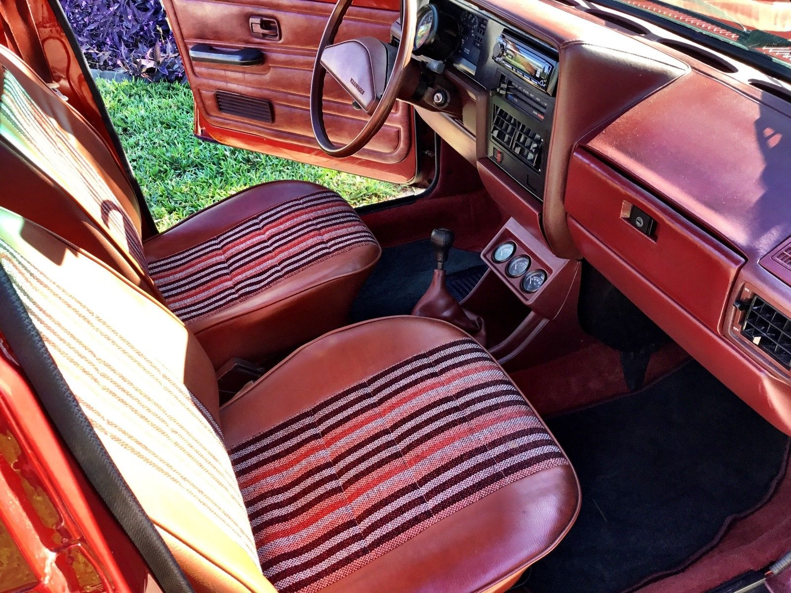 1981 Volkswagen Pick Up interior