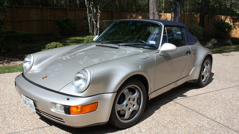 1992 porsche america convertible 911 mecum auction