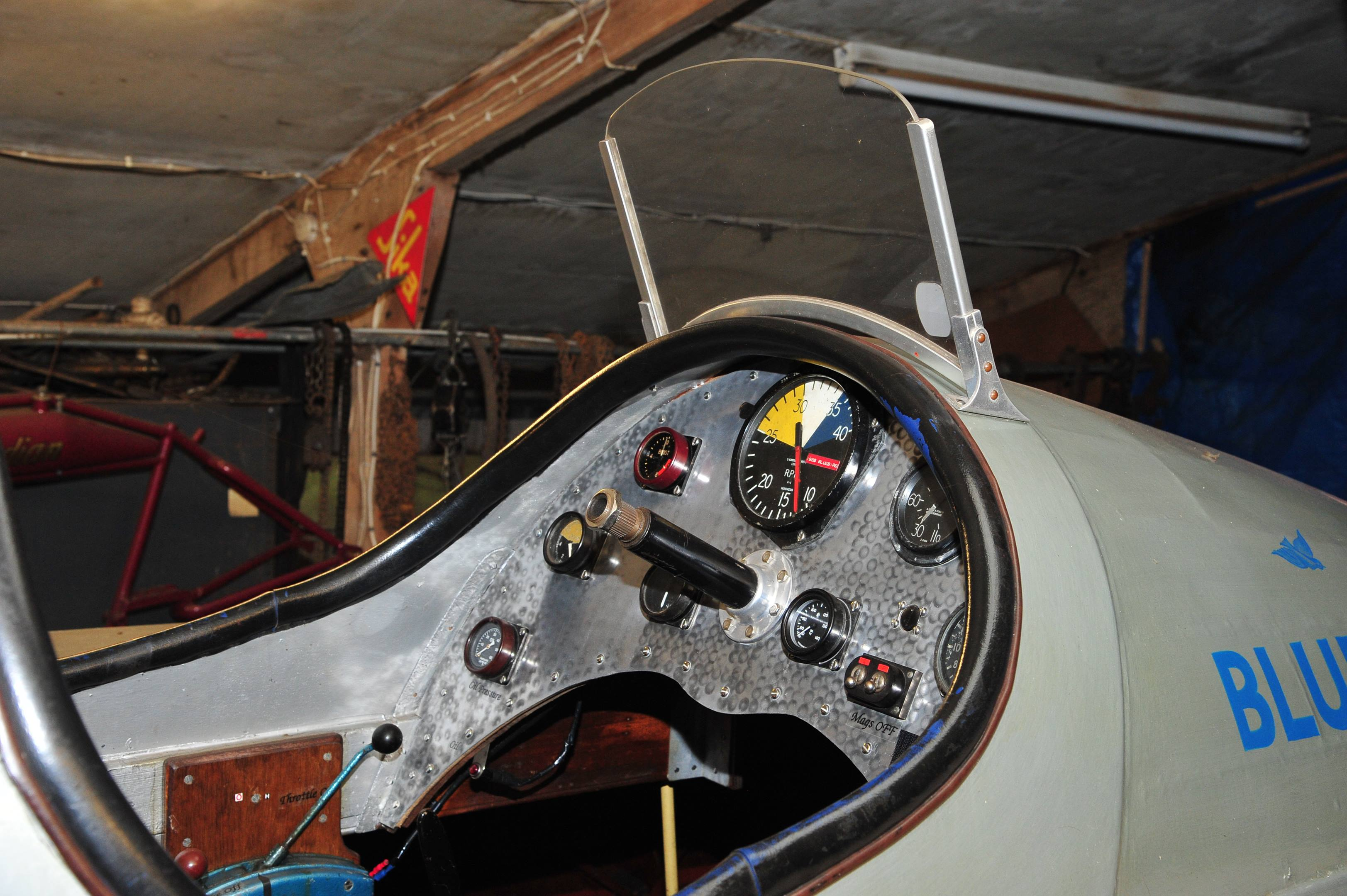 Blue Bird cockpit