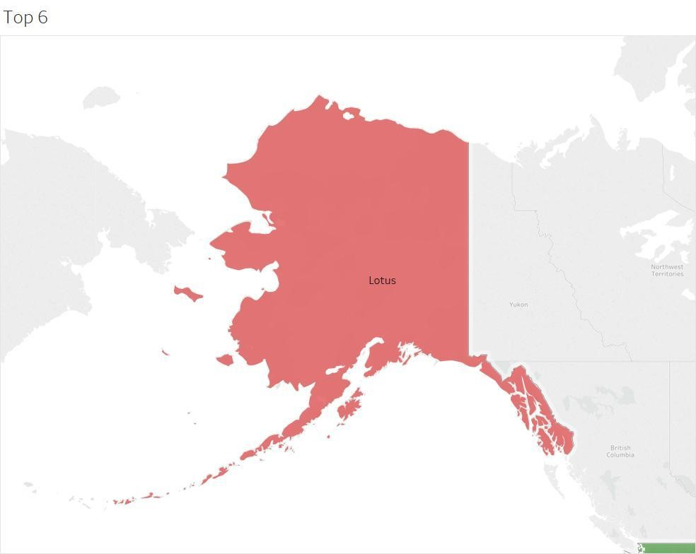 most popular British car manufacturer in Alaska