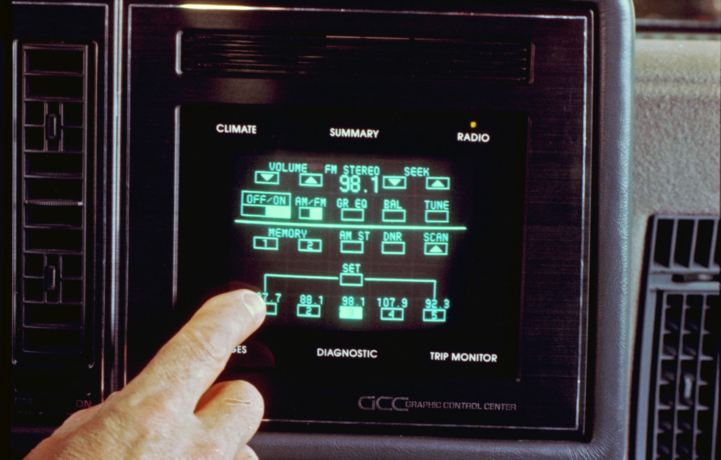 1986 Buick Riviera GCC Touchscreen radio