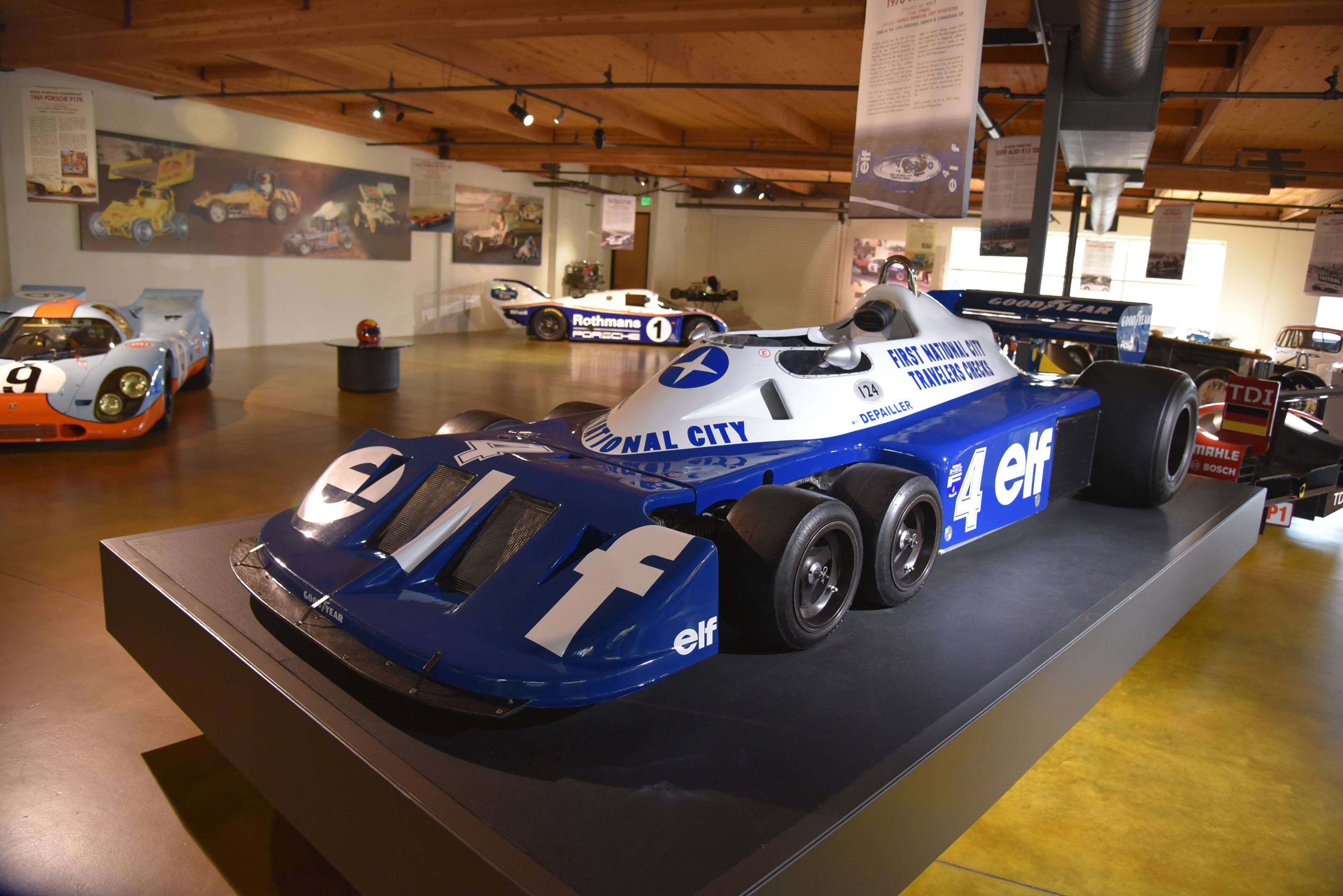 Tyrell six wheeler p34