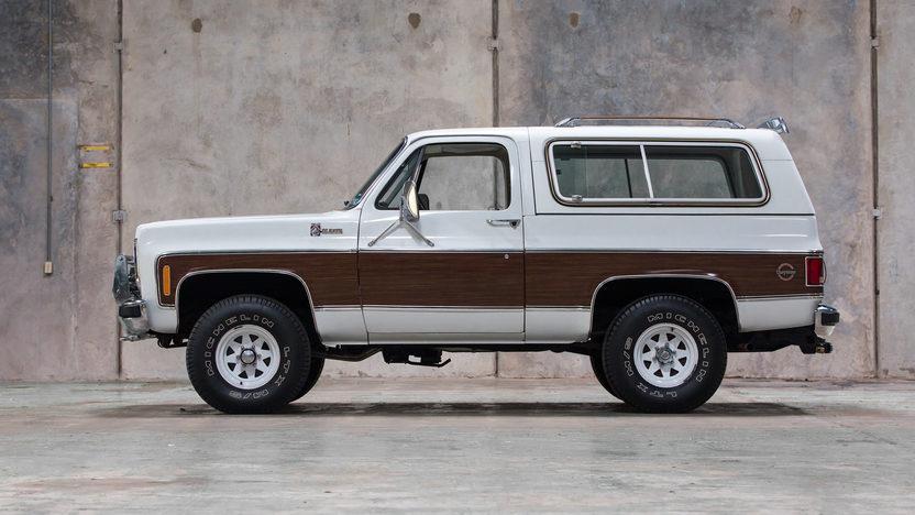 1978 Chevrolet K10 Blazer Cheyenne Sport Utility Vehicle 4x4
