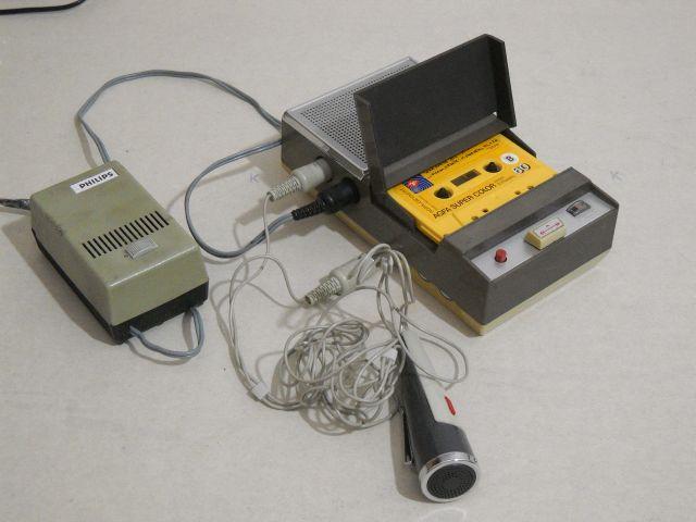 Origin of the species: The Phillips EL 3300 cassette recorder.