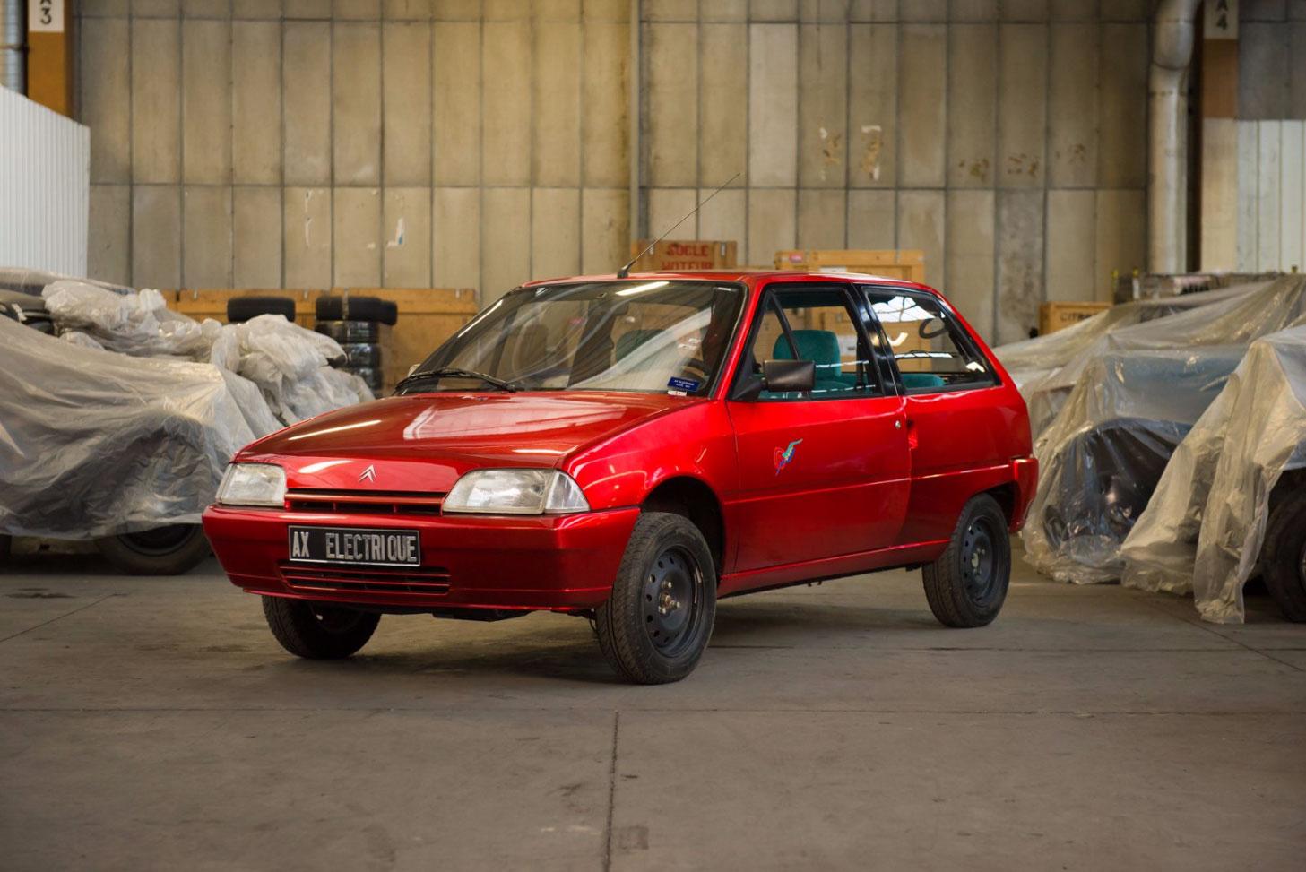1995 Citroën AX électrique Axel