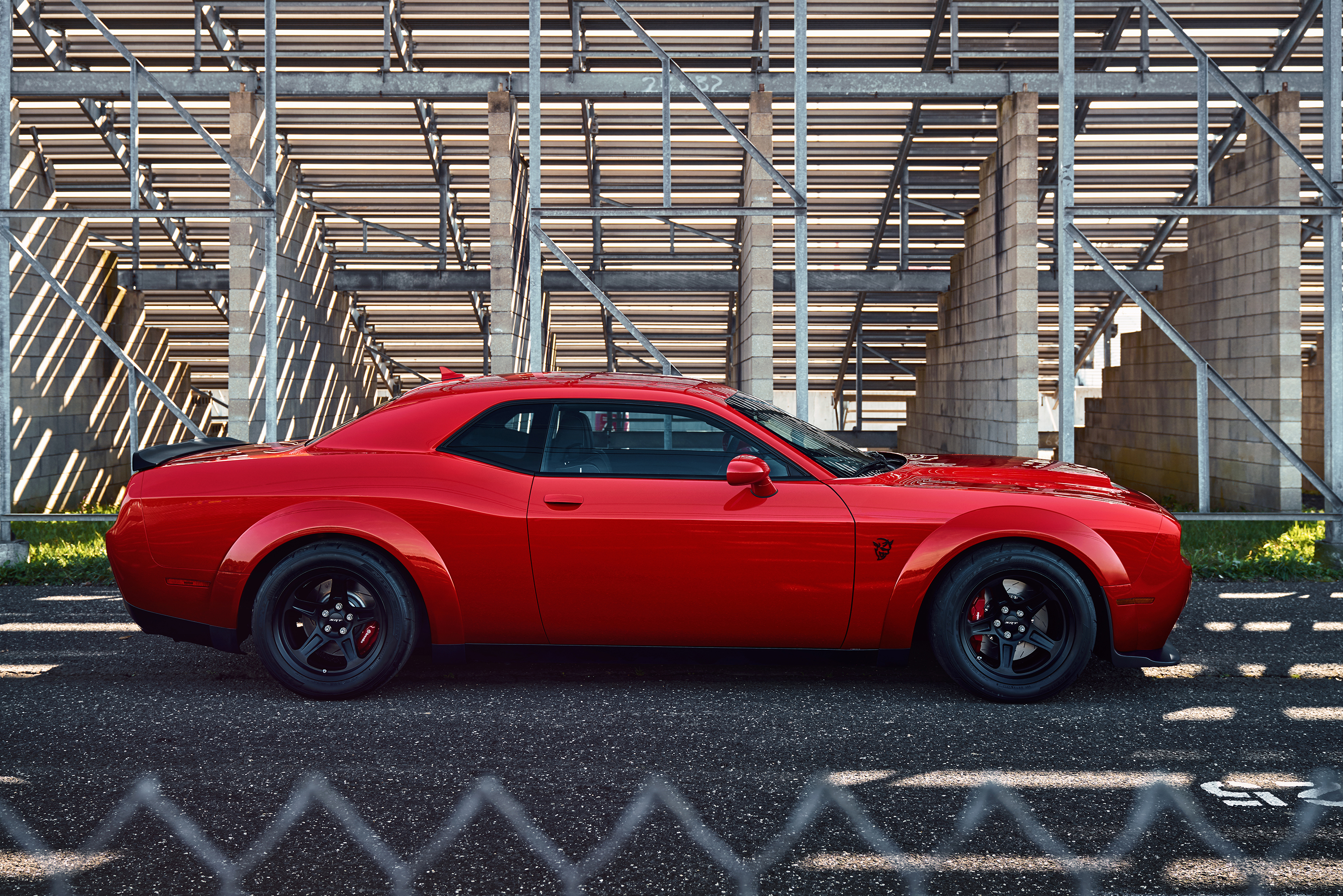 2018 Dodge Challenger SRT Demon profile