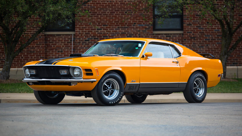1970 Ford Mustang Mach 1 Front LH corner shoot