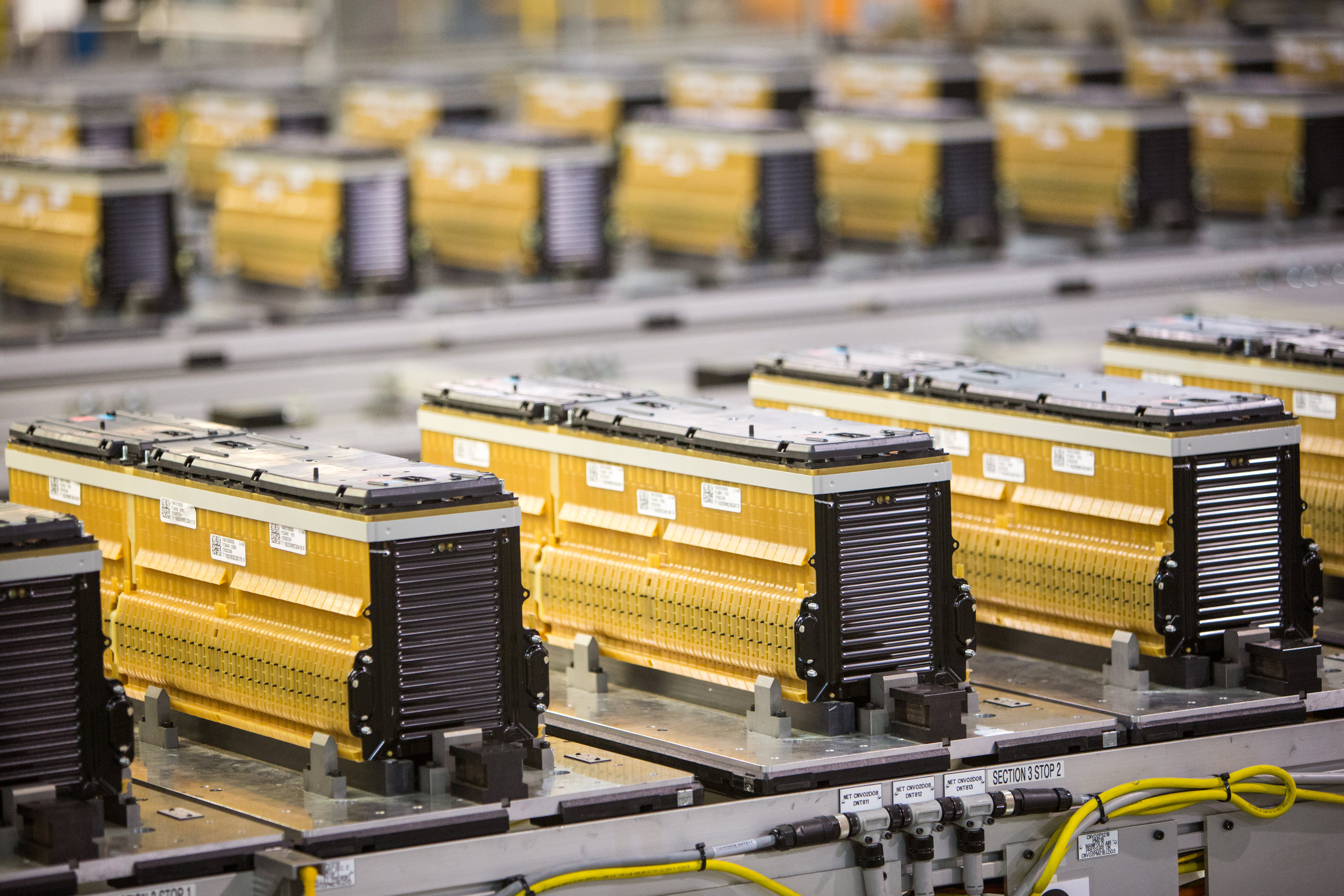 GM Brownstown Battery Plant lithium ion