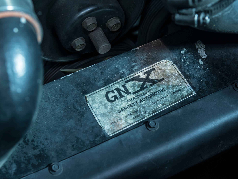 1987 Buick GNX sticker detail