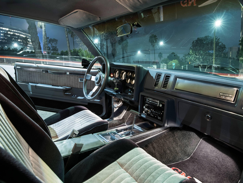 1987 Buick GNX interior