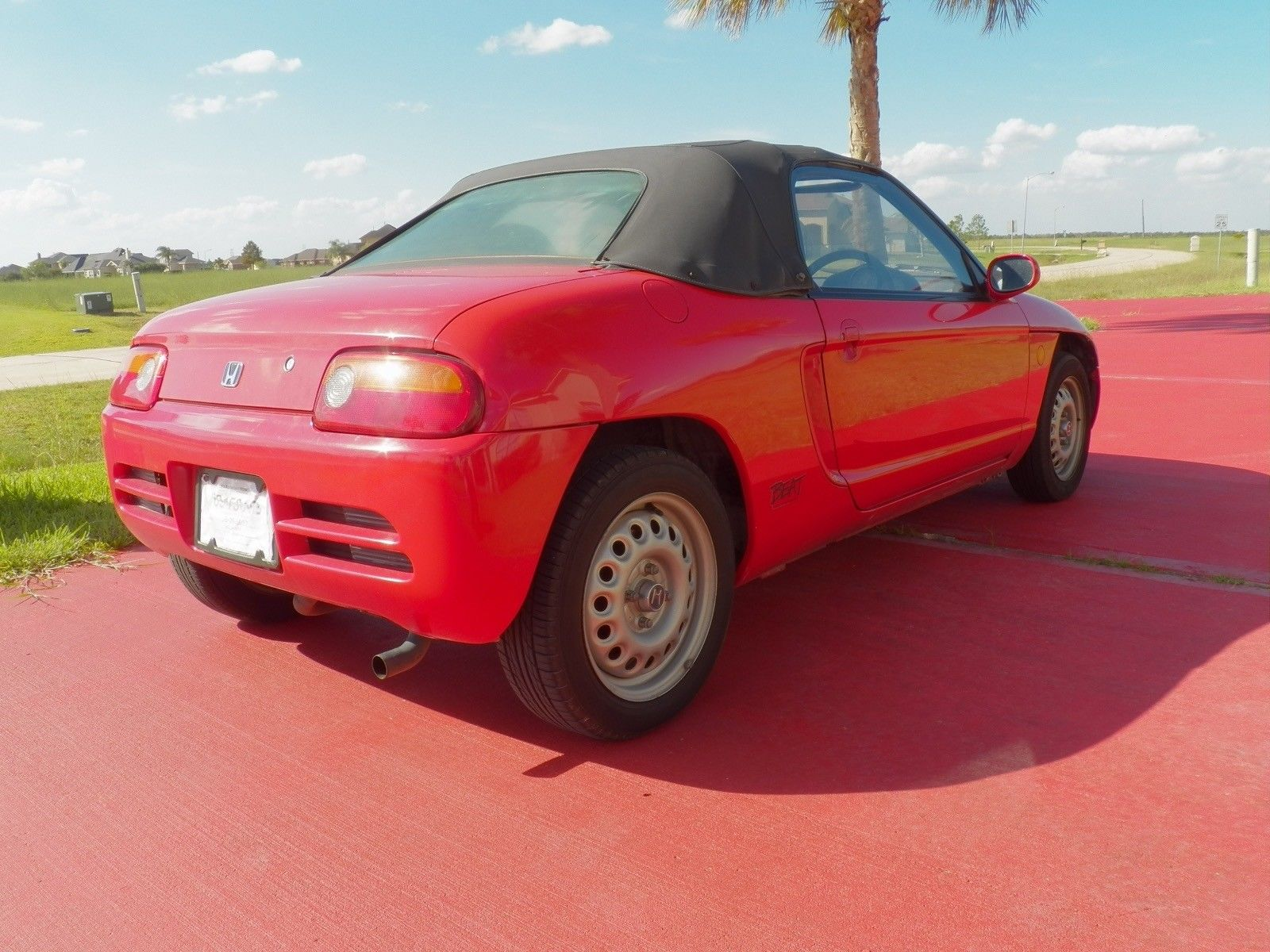1991 Honda Beat PP1 rear 3/4