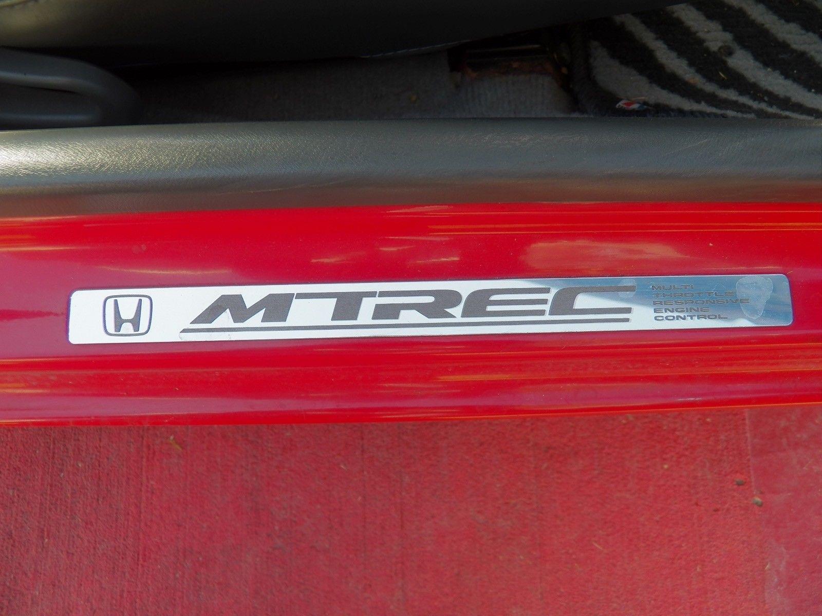 1991 Honda Beat PP1 badge detail