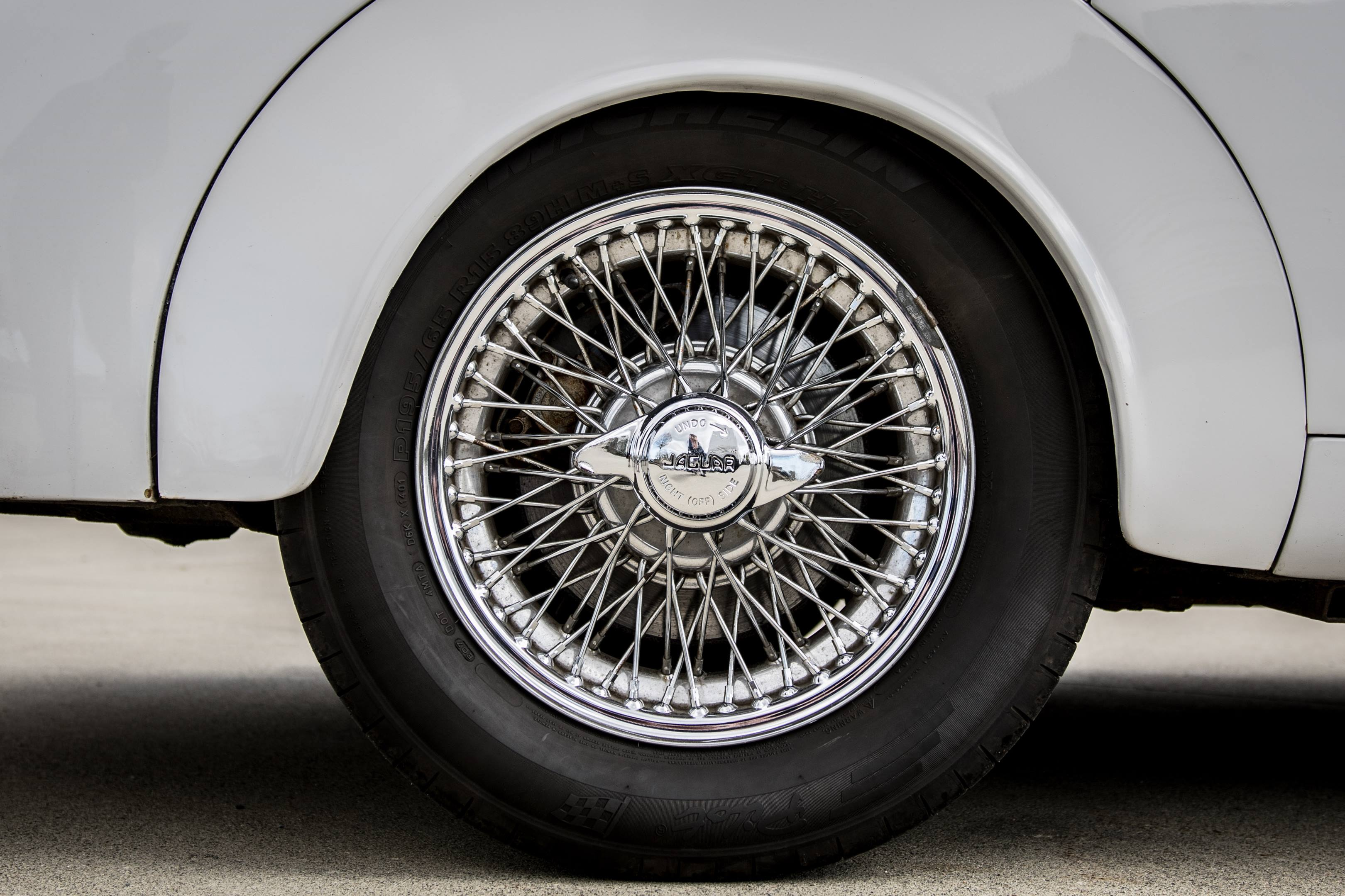 Jaguar Mark II wheel