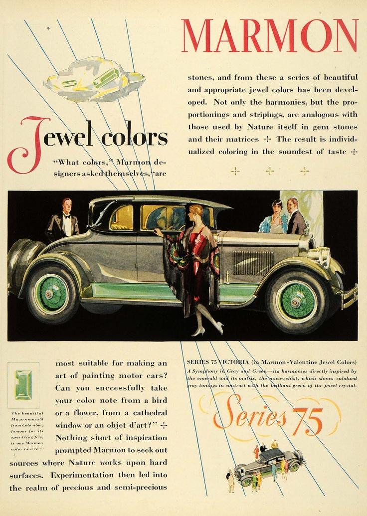 Marmon Series 75 1932 ad