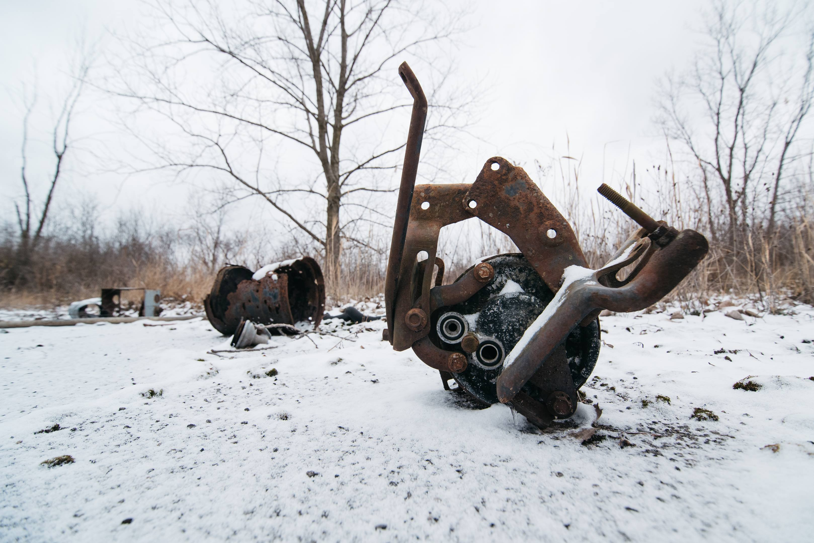 Motor City Dragway scrap