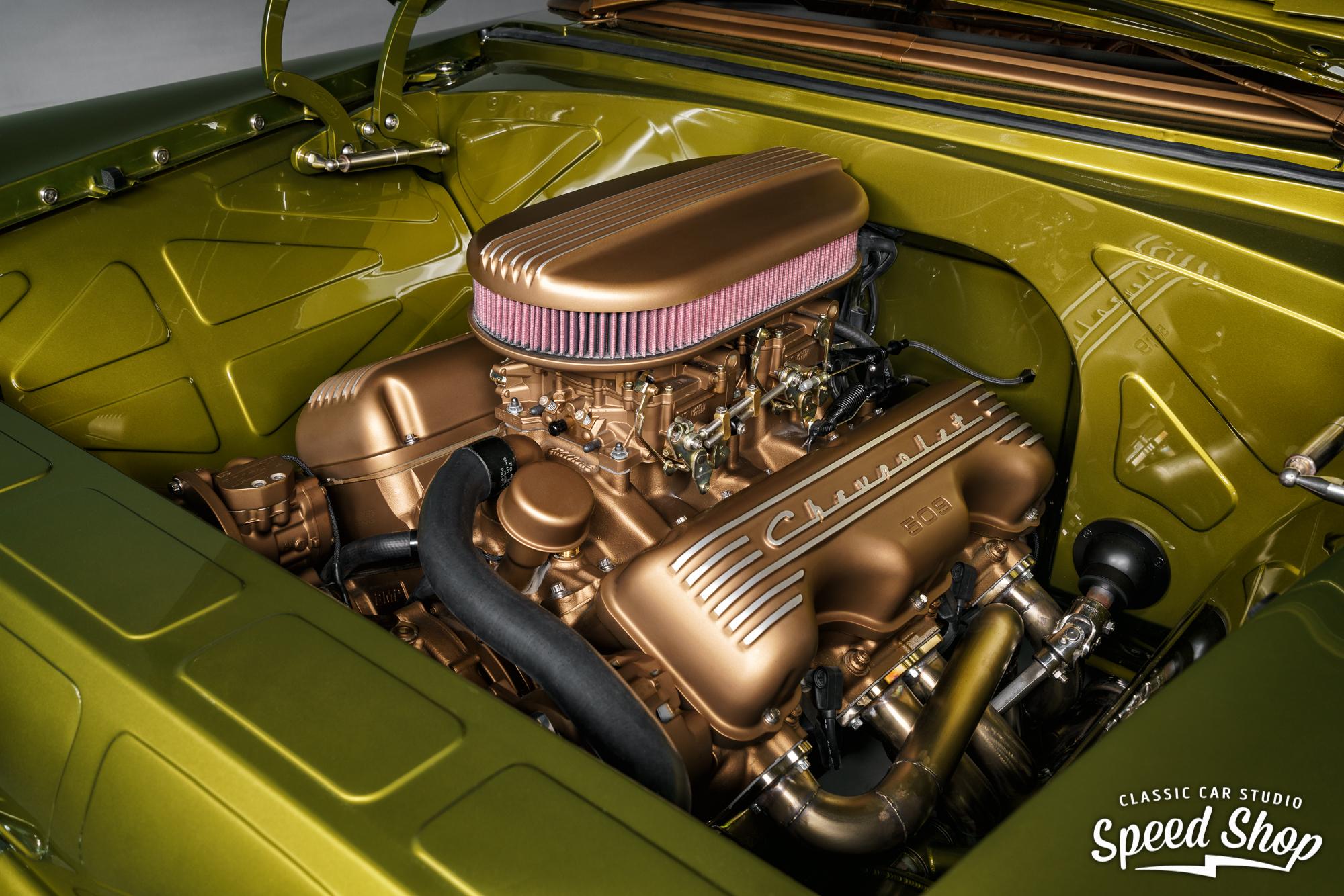 1955 Chevrolet Nomad engine