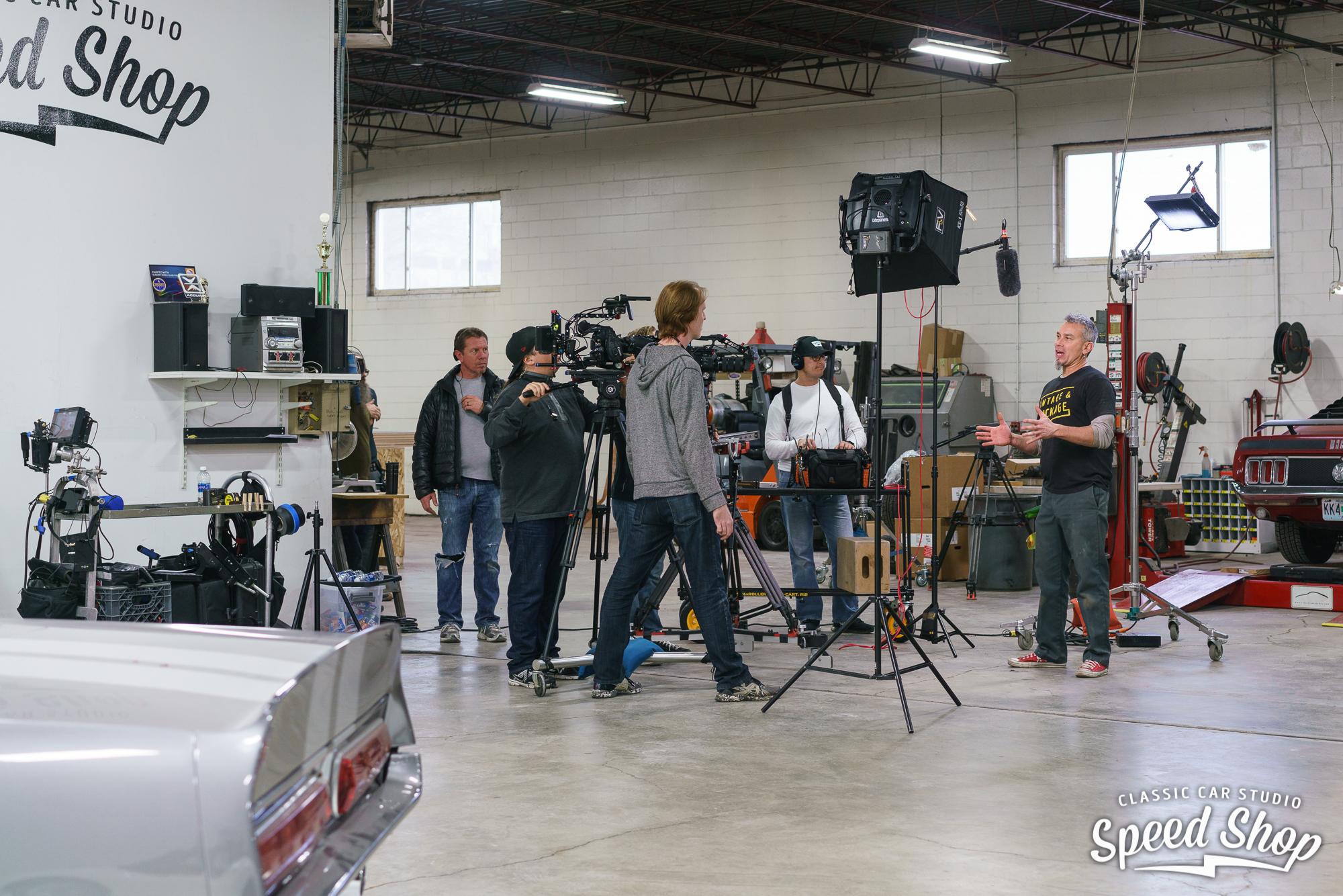 behind the scenes Classic Car Studio