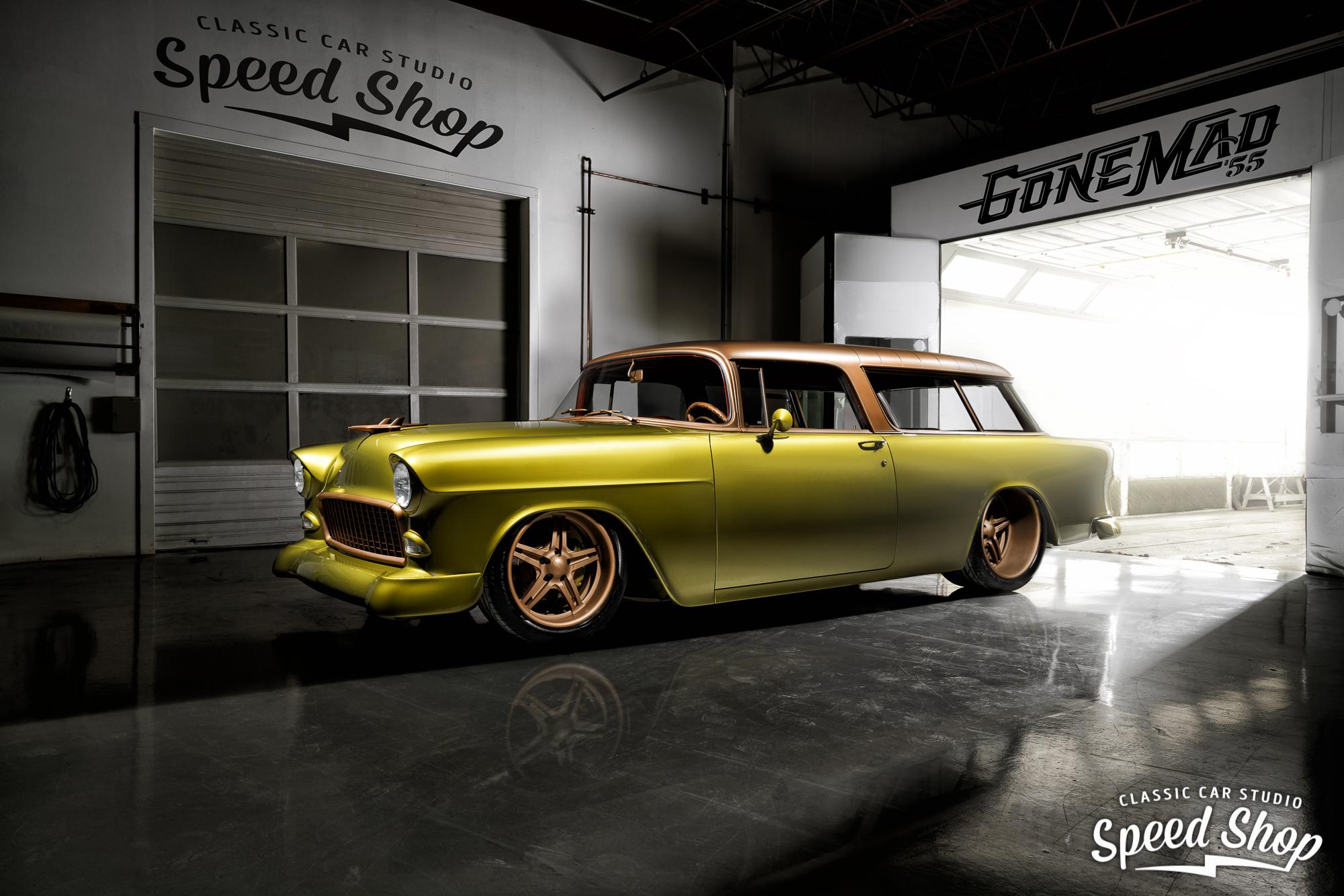 custom 1955 Chevrolet Nomad