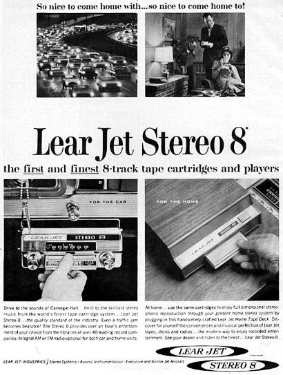 Lear Jet - Stereo 8