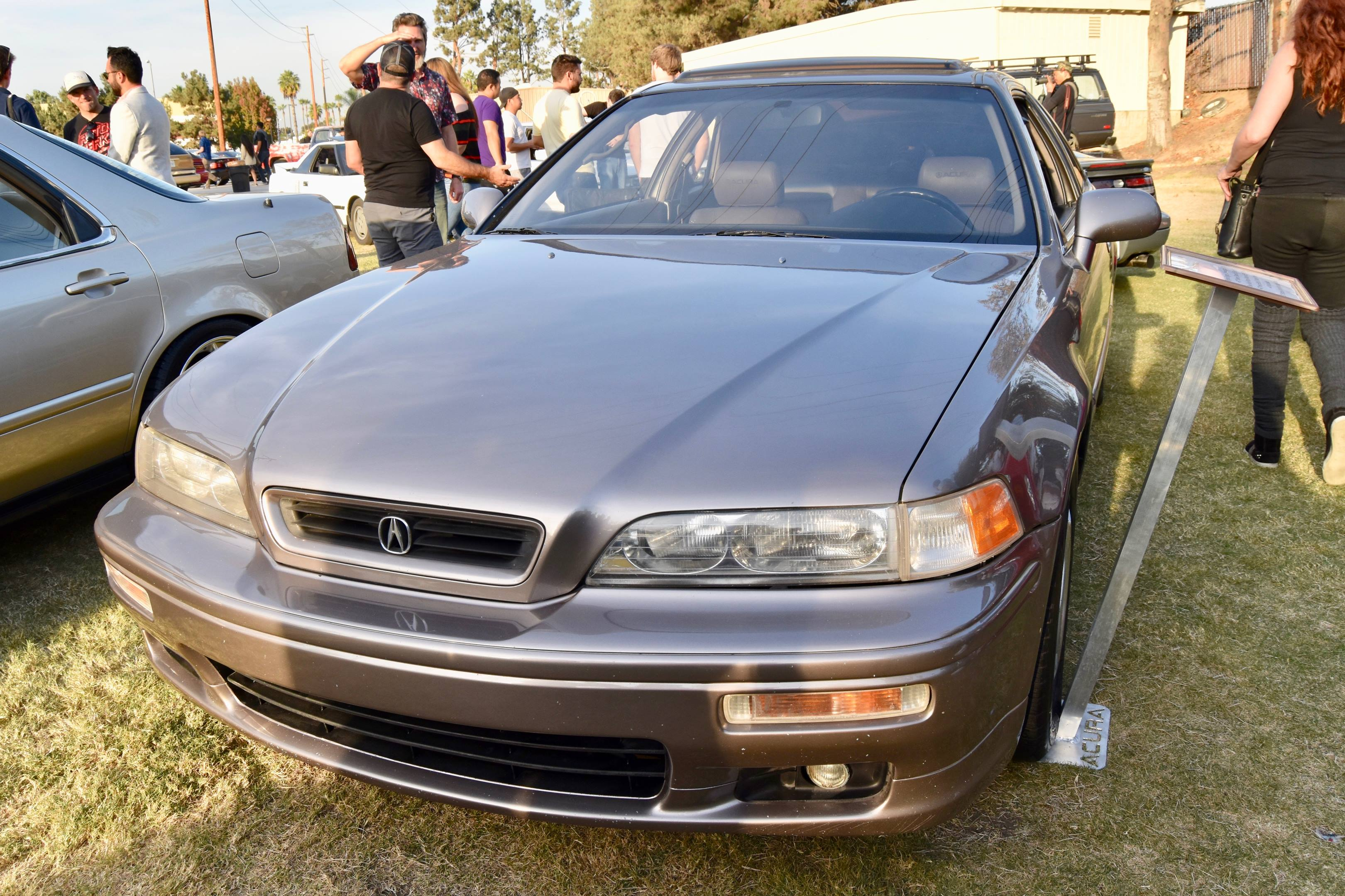 1994 Acura Legend LS Coupe front 3/4