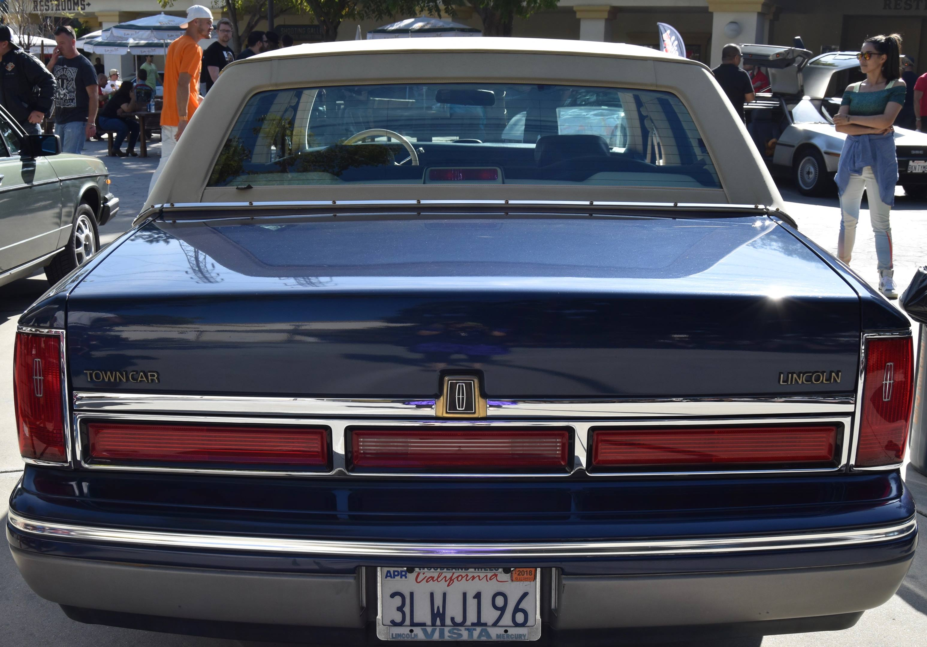 1995 Lincoln Town Car Signature Spinnaker Edition rear